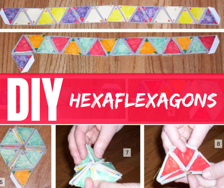 Hexaflexagon Templates