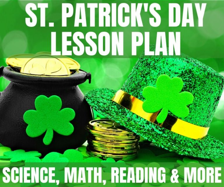 St. Patrick's Day Lesson Plan: Science, Reading & Math Fun
