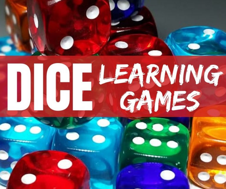 Dice Games & Lesson Plan for Elementary School Students