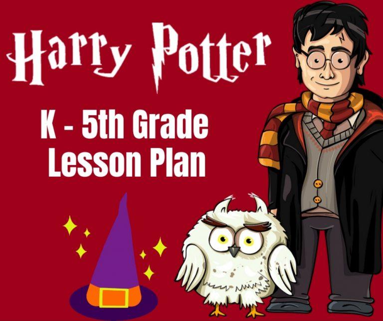 Harry Potter Lesson Plan: FREE Worksheets & Games