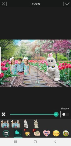 How to Photoshop Your Kids with the Easter Bunny Using Free Photo Director App