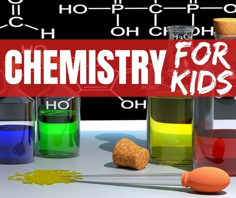 Chemistry for Kids (K-5th Grade): Experiments, Games, Math, Reading & Writing