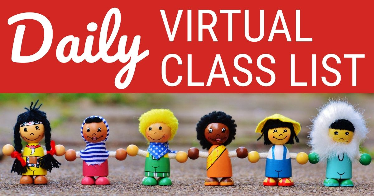 Daily Virtual Class List