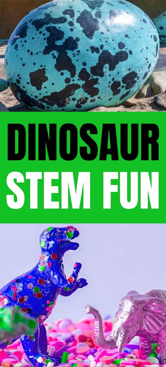 Dinosaur STEM Activities for Kids