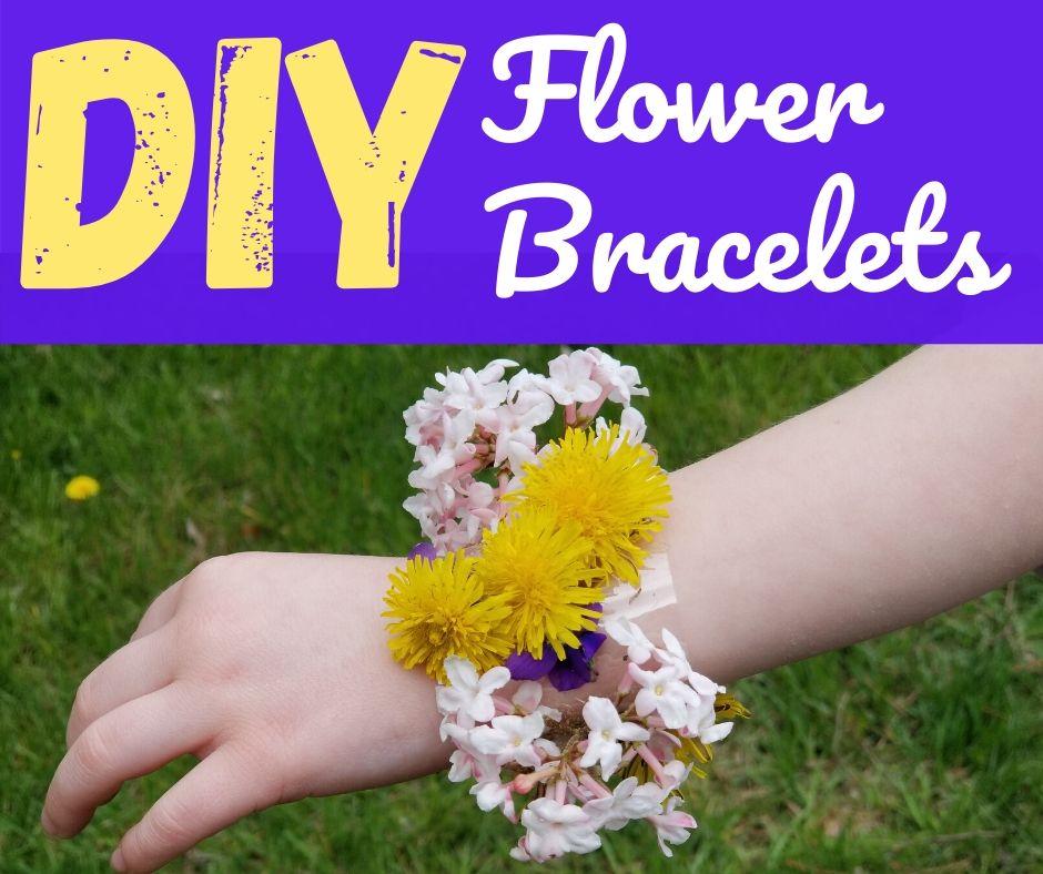 DIY Nature Walk Bracelets with Tape