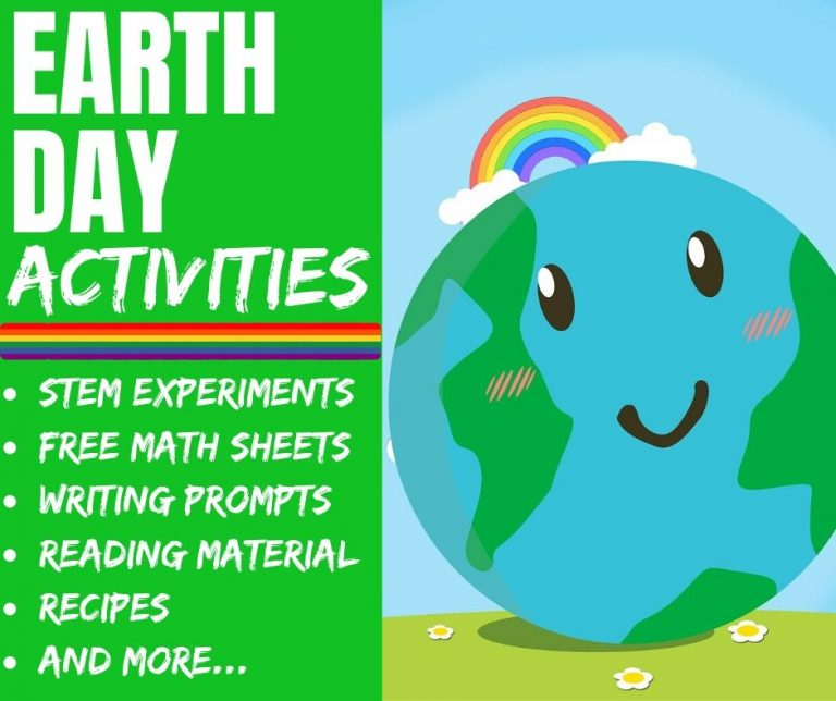 Earth Day Projects: Science Experiments & FREE Worksheets