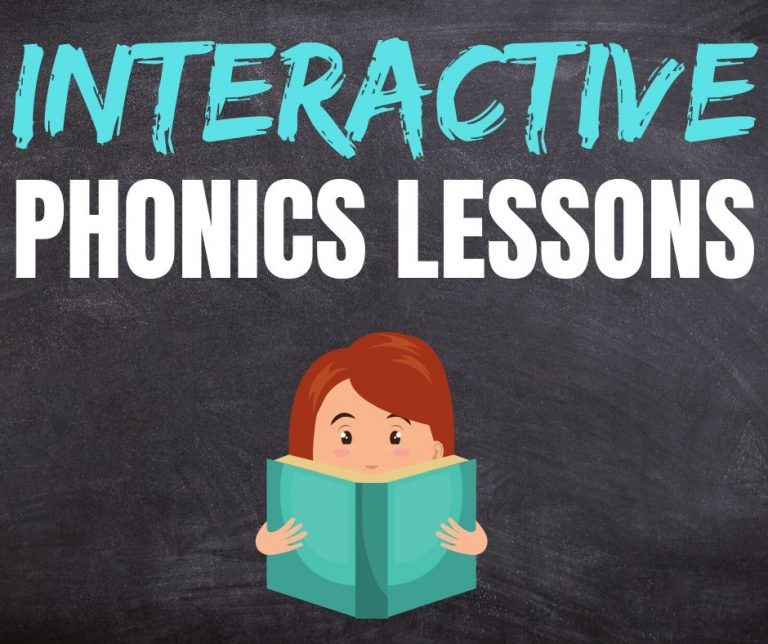Free Early Childhood Interactive Phonics Lessons