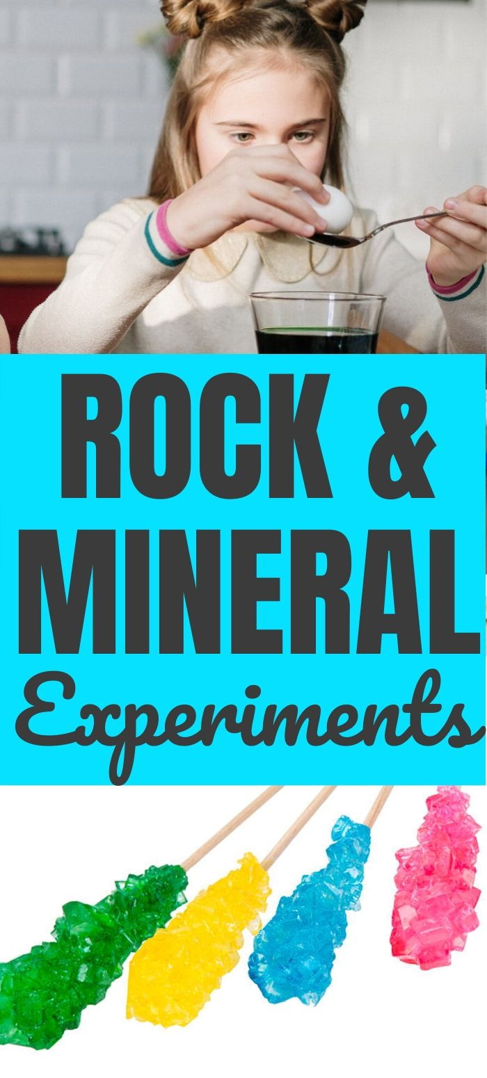Rock & Mineral STEM Activities for Kids: DIY Rock Candy Recipe & Geology Lesson Plan