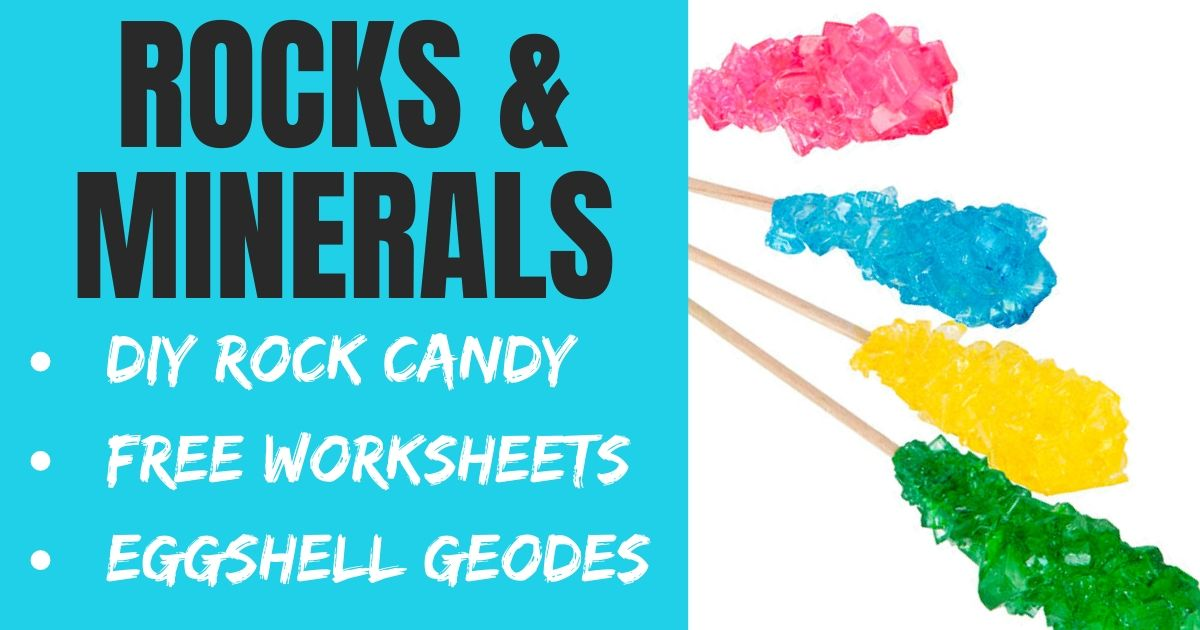 Rock & Mineral STEM for Kids: DIY Rock Candy Recipe