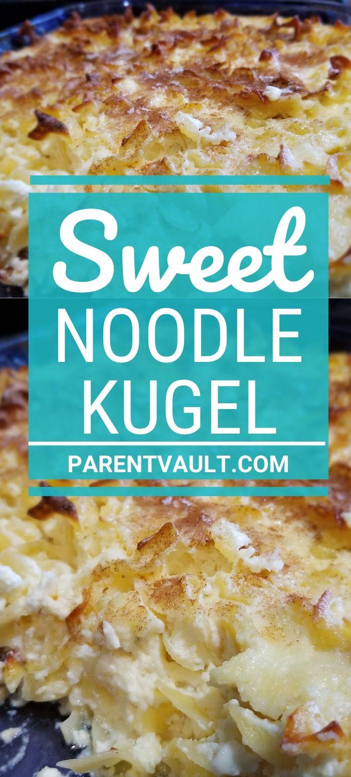 Sweet Noodle Kugel Recipe Easy