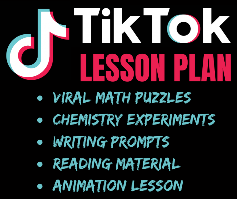 TikTok Lesson Plan: Math Puzzles, Science Experiments & Writing Prompt