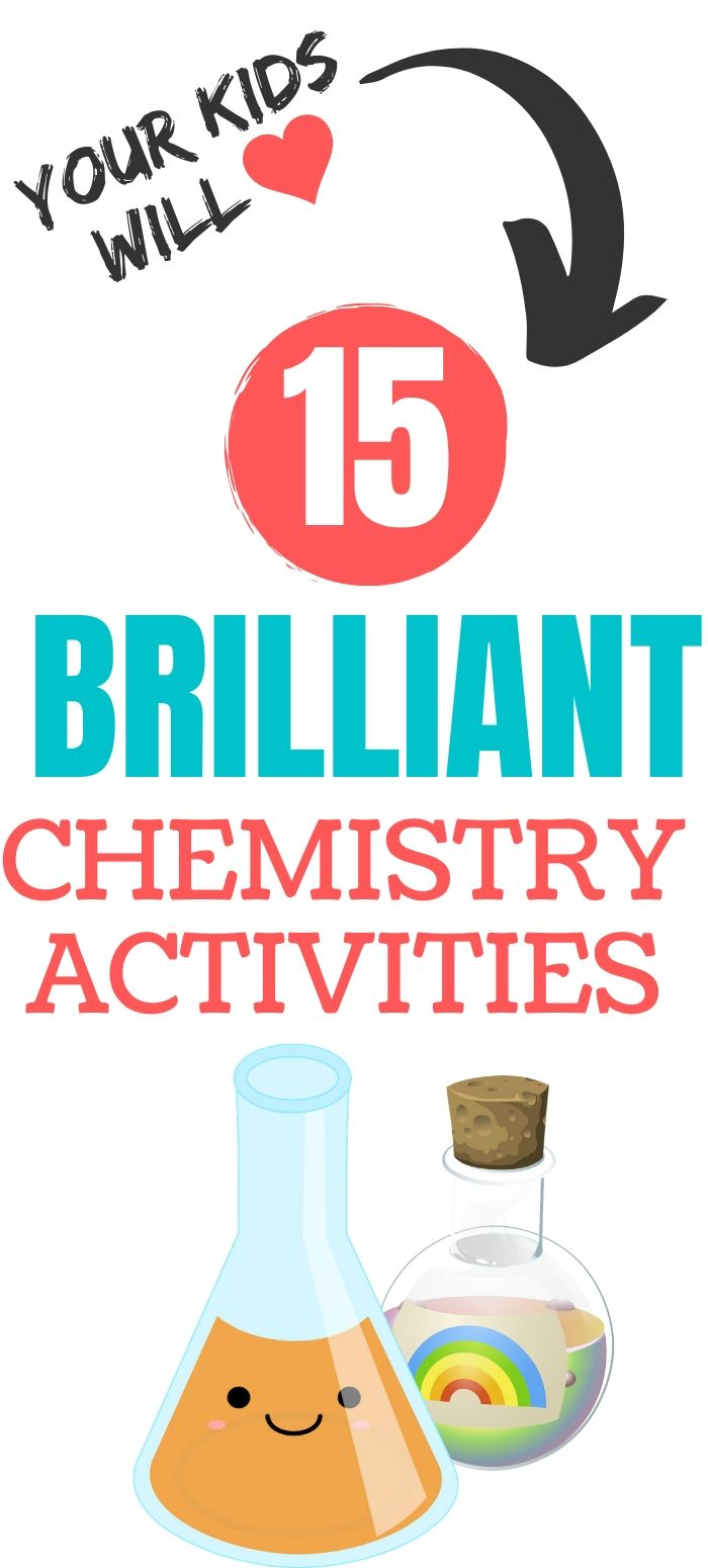chemistry activities for kids & free worksheets