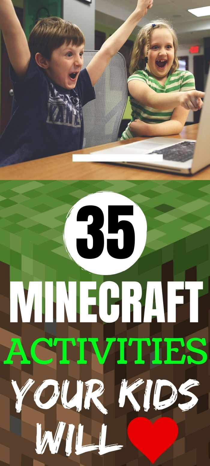 Minecraft Activities for Kids & Free Worksheets