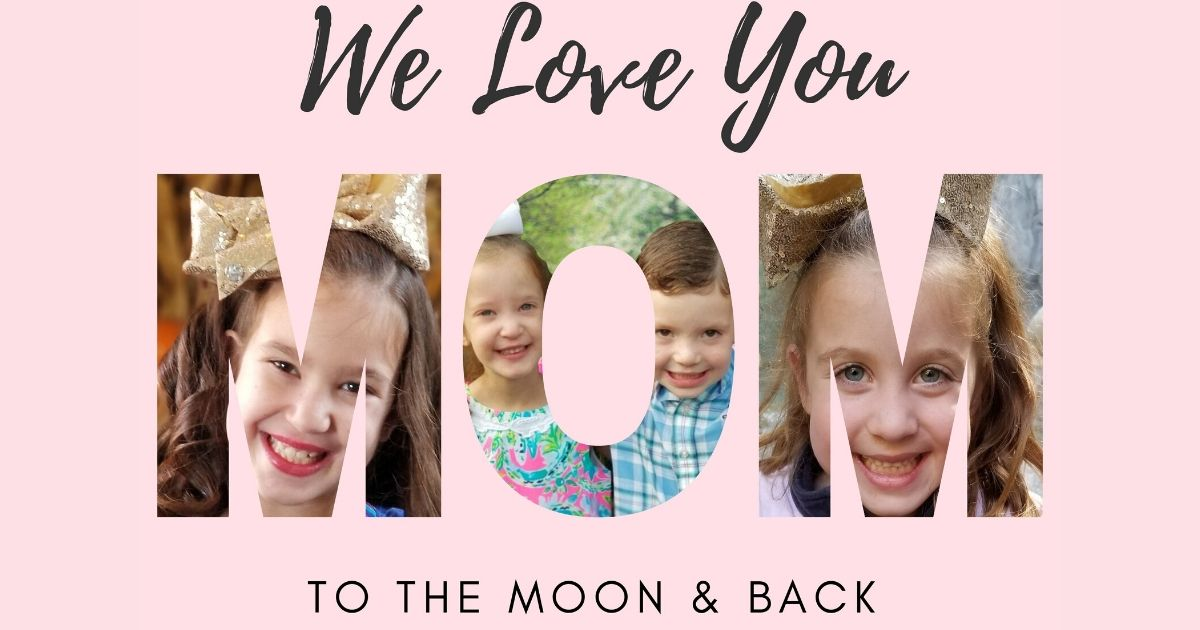 Canva Mother's Day Photo Letter Card