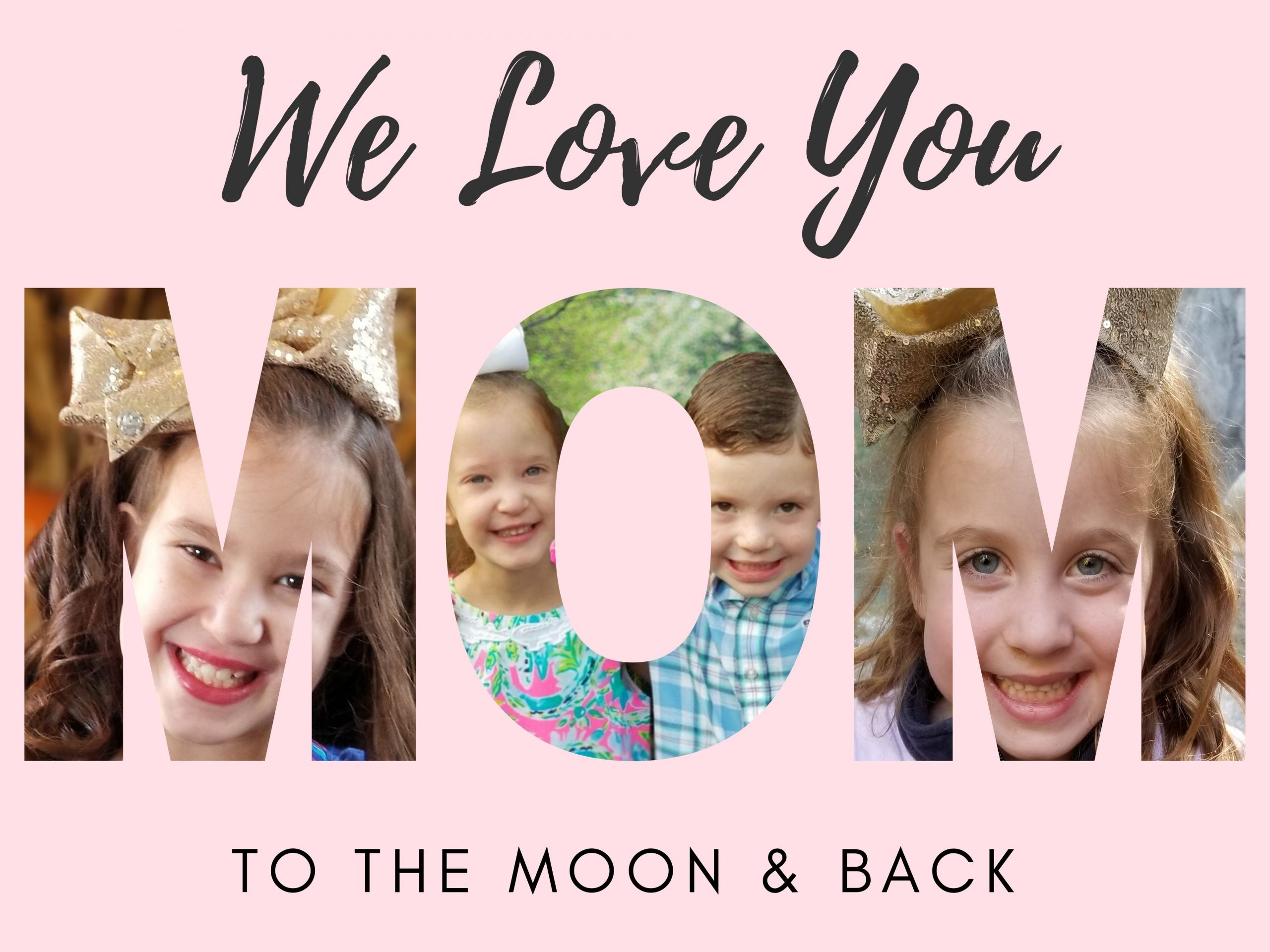 DIY Mother's Day Photo Card Using Canva