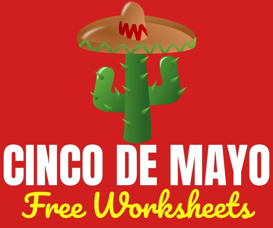 Cinco de Mayo Free Printable Worksheets