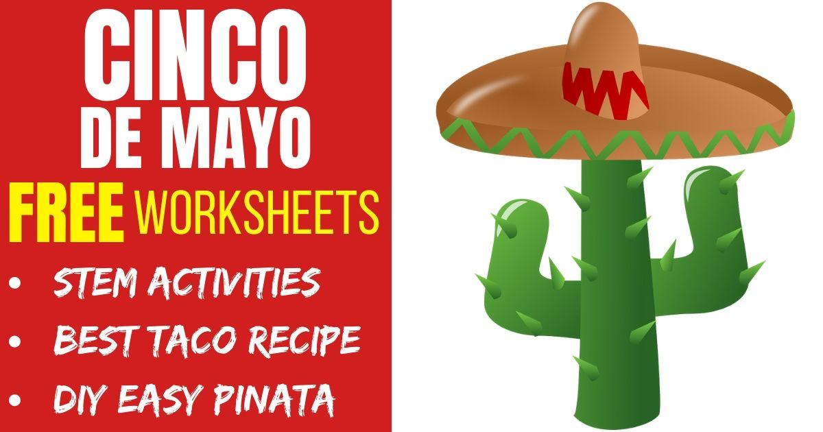 Free, Printable Cinco de Mayo Worksheets / Mexico