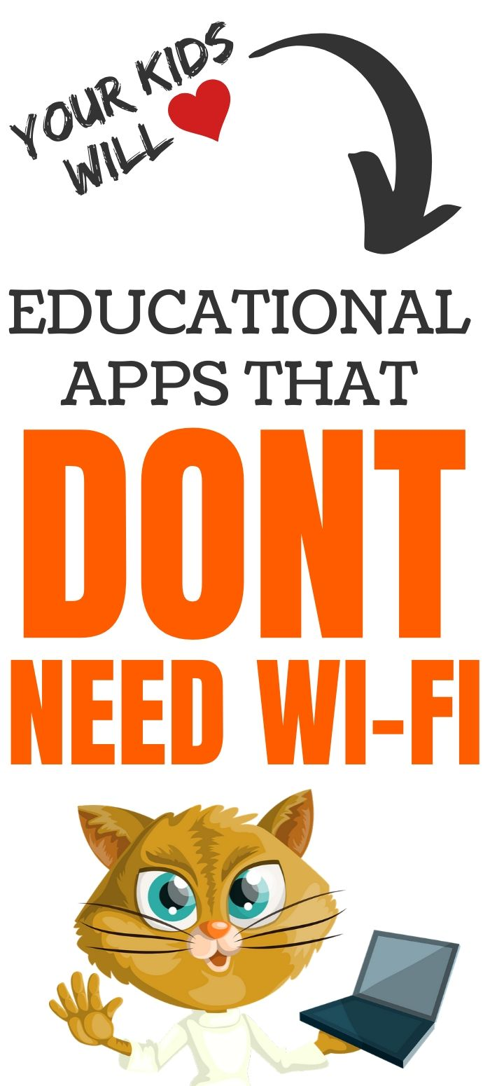 Educational Apps That Don't Need Wi-Fi Internet