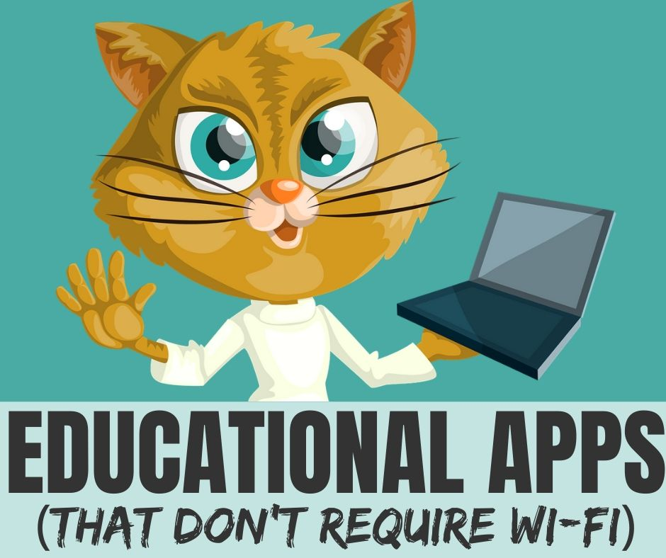 Educational Apps for Kids That Don't Require Wi-Fi or Data