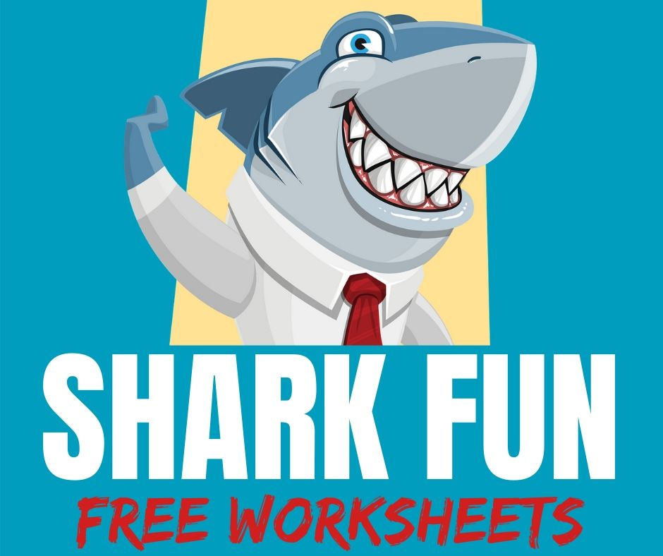 Free Shark Worksheets & Printables
