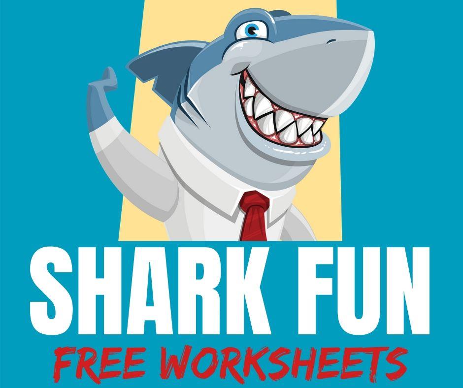 Free Shark Worksheets & Printables