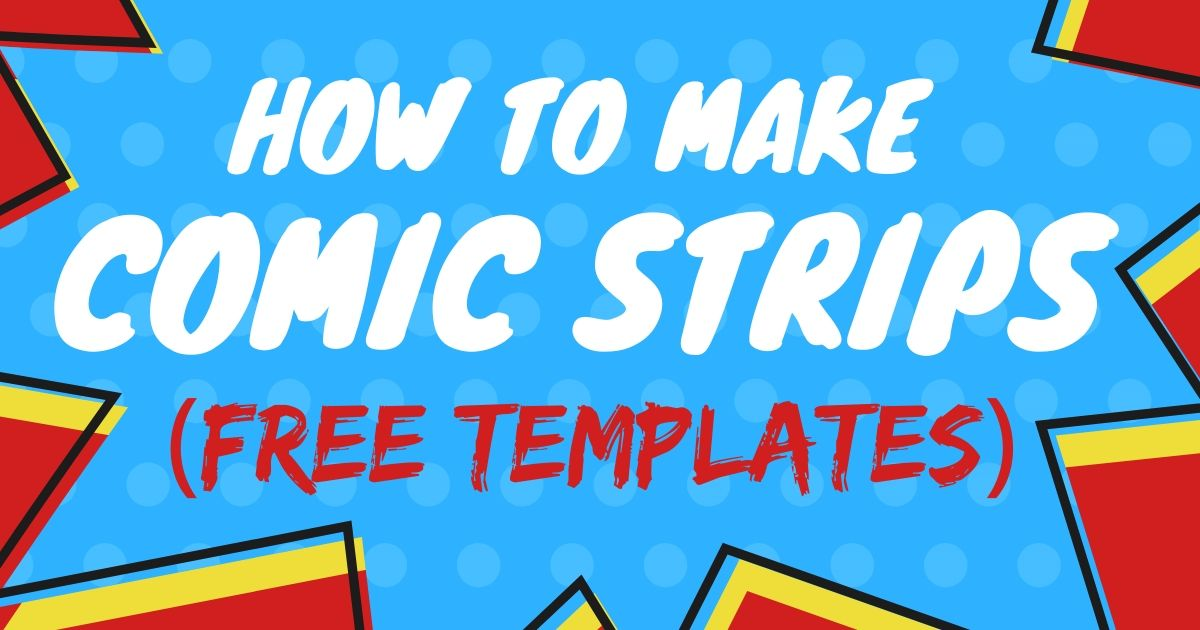 How to Make a Comic Strip with Kids