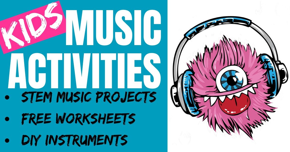 Free Music Activities & Printables for Kids