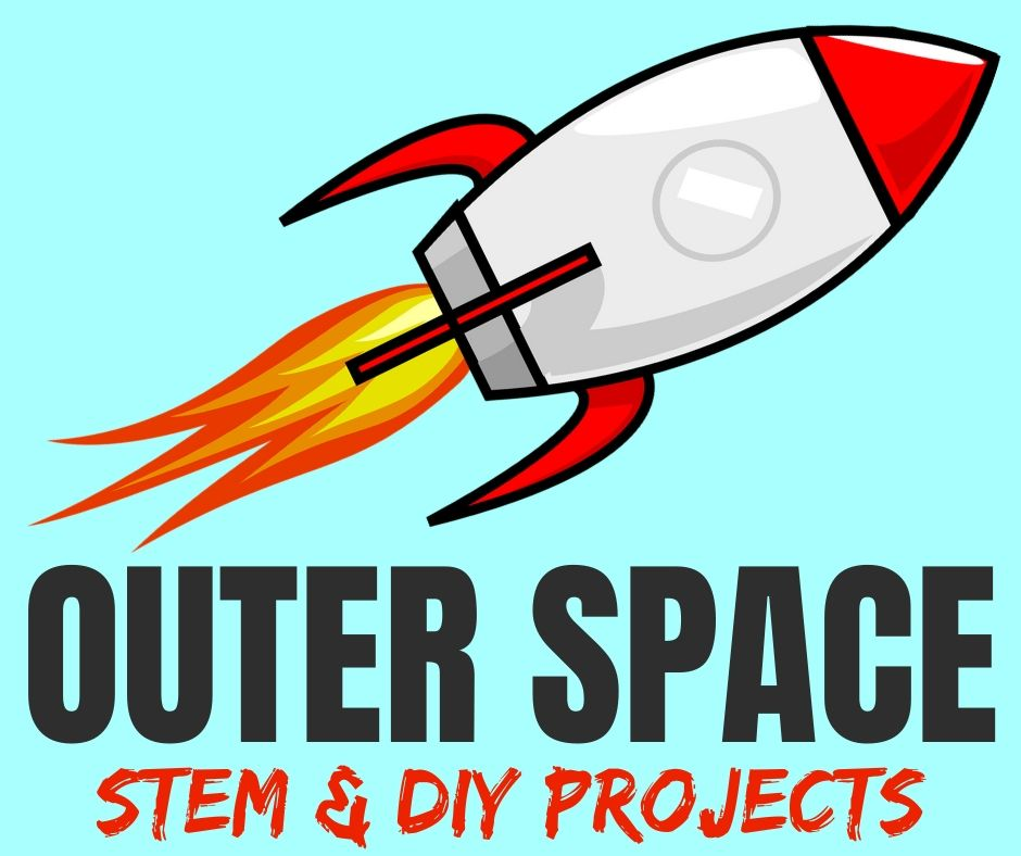 outer space projects for kids: STEAM & DIY arts and crafts