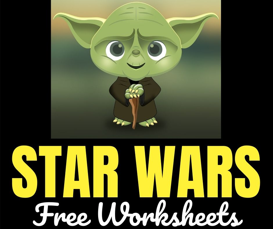 Star Wars Free Printable Worksheets For Kids