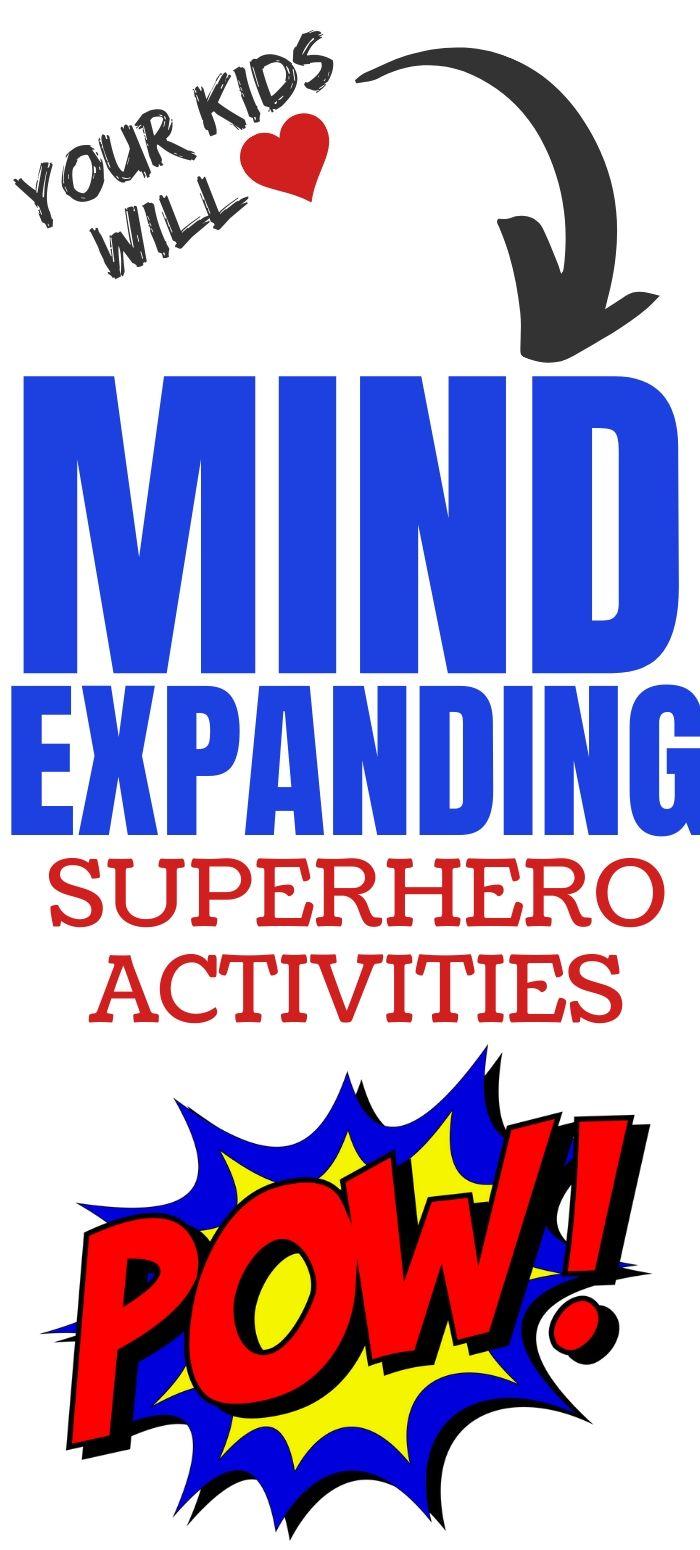 Superhero Activities for Kids: Free Worksheets, Printables & DIY Crafts