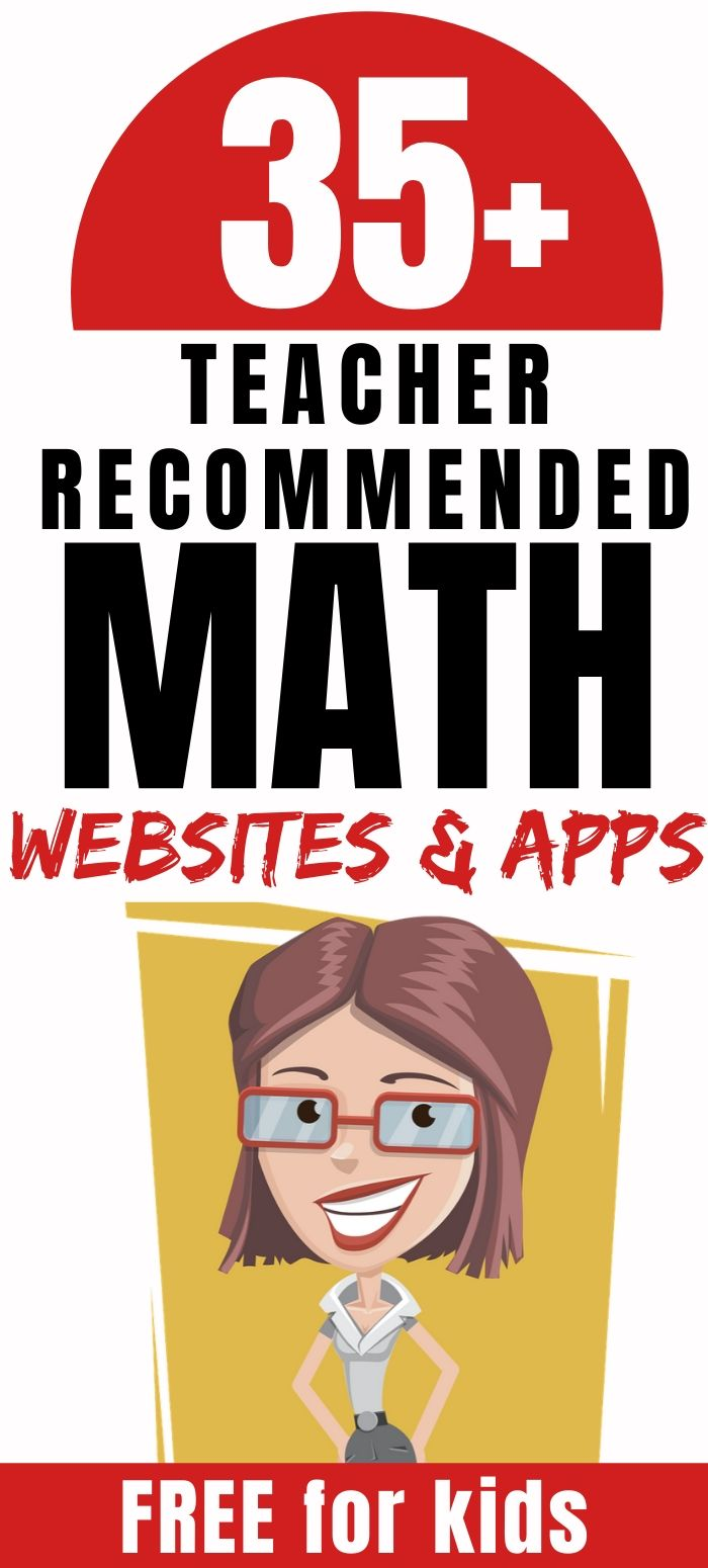 teacher recommended math websites and apps for kids