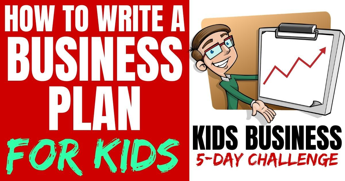 A business plan example to teach kids how to write their own! Plus, executive summary examples and free business plan templates to make it very easy for anyone to start their own business.