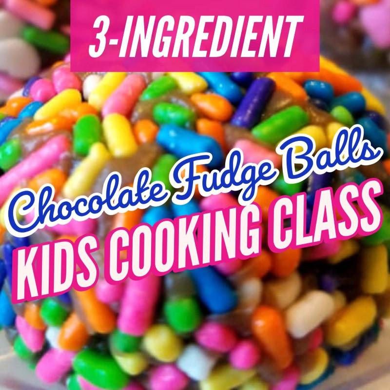 3 ingredient Brazilian fudge balls