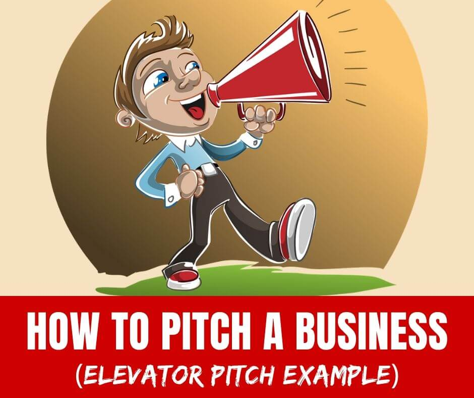 The BEST elevator pitch business example to practice learning how to pitch a business idea!