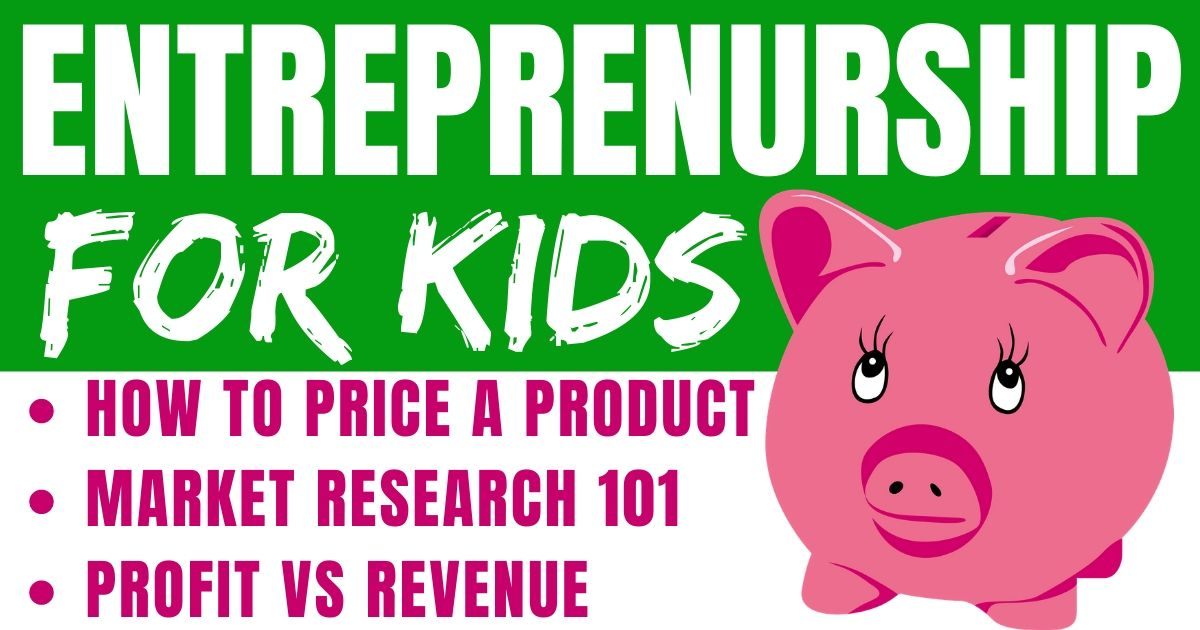 What is profit vs revenue? Plus, how to do market research, and how to price a product.