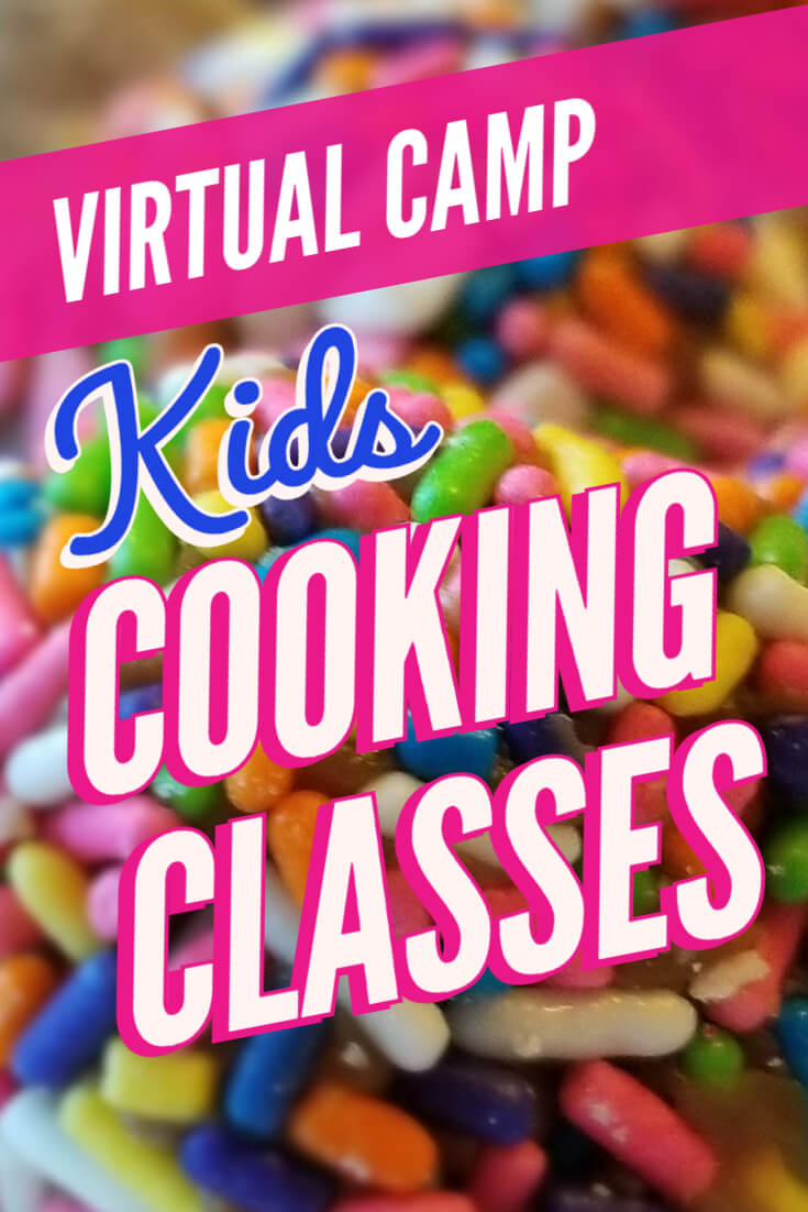 cooking class for kids - virtual camp ingredient list for our awesome week of kids cooking classes!