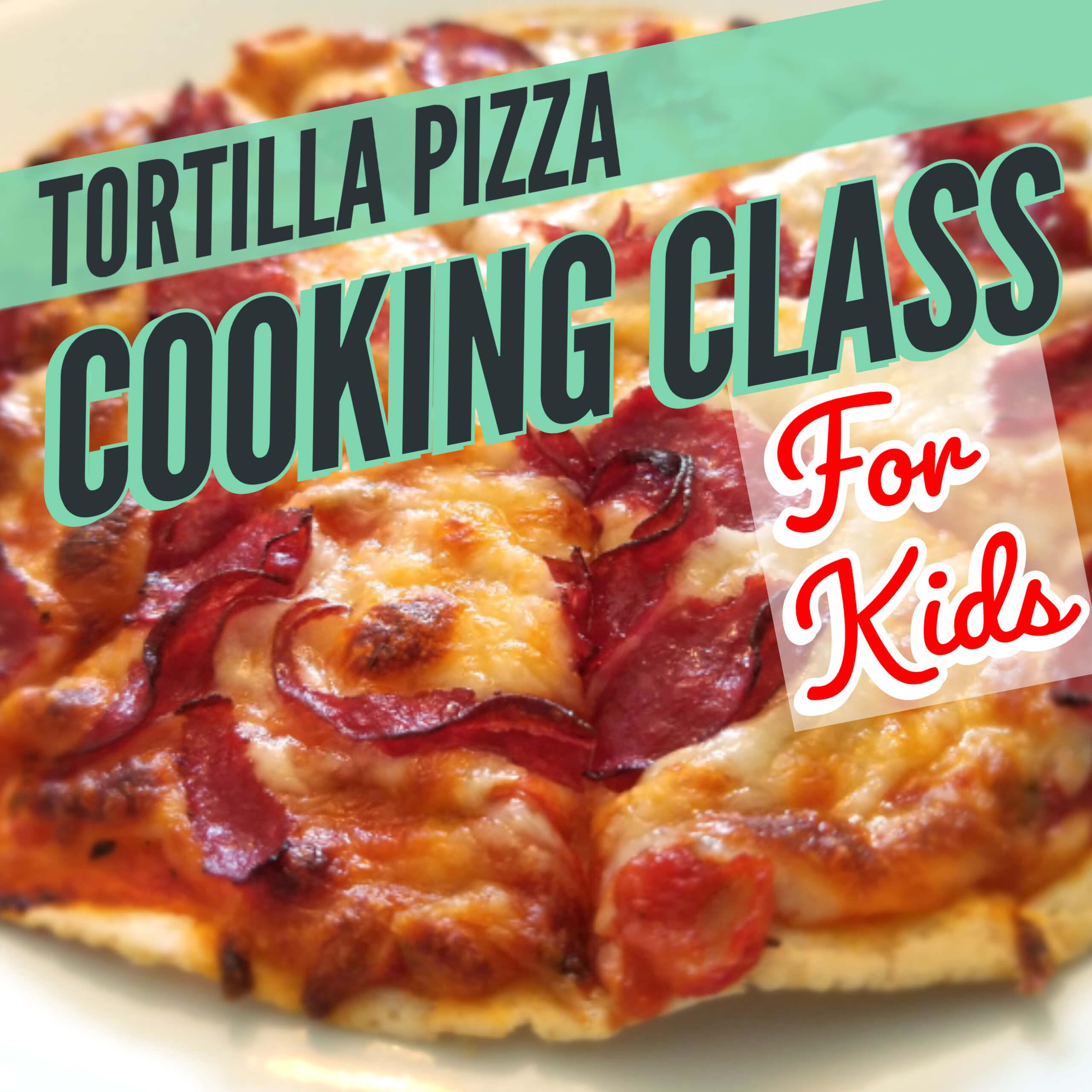 tortillas pizza recipe for kids