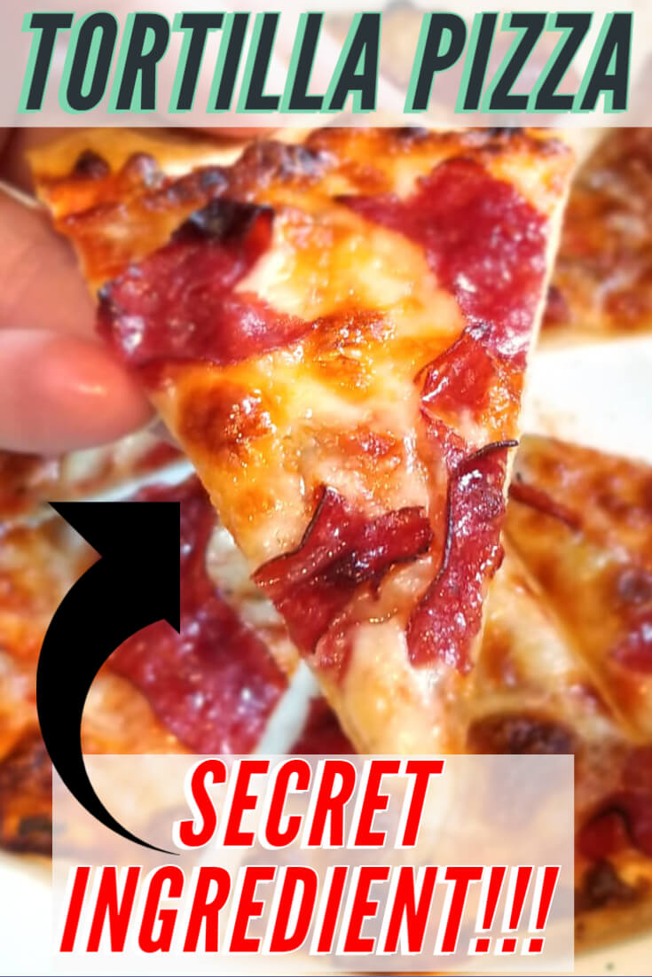 easy pizza recipe dough (tortillas)