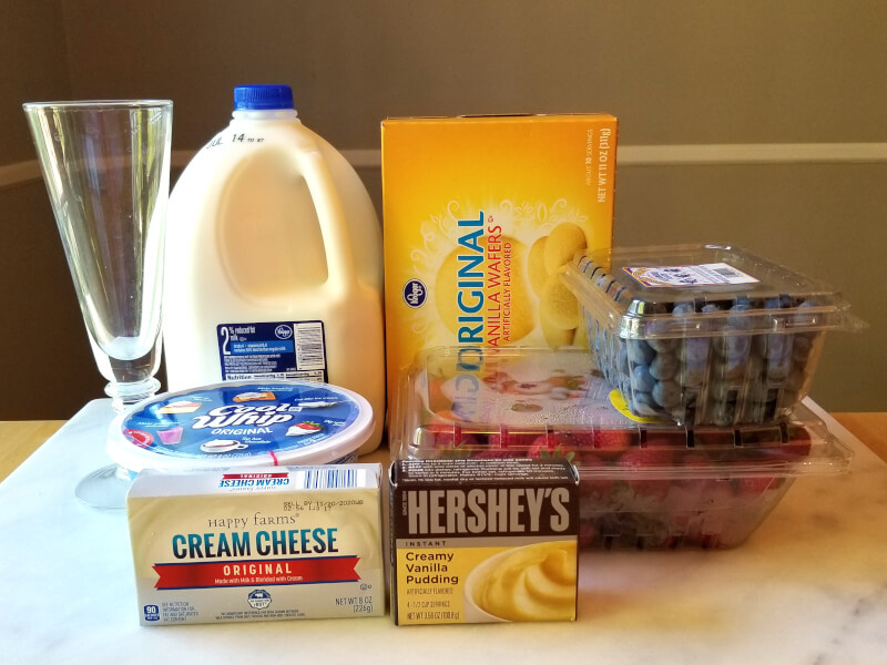 4th of July dessert ingredients