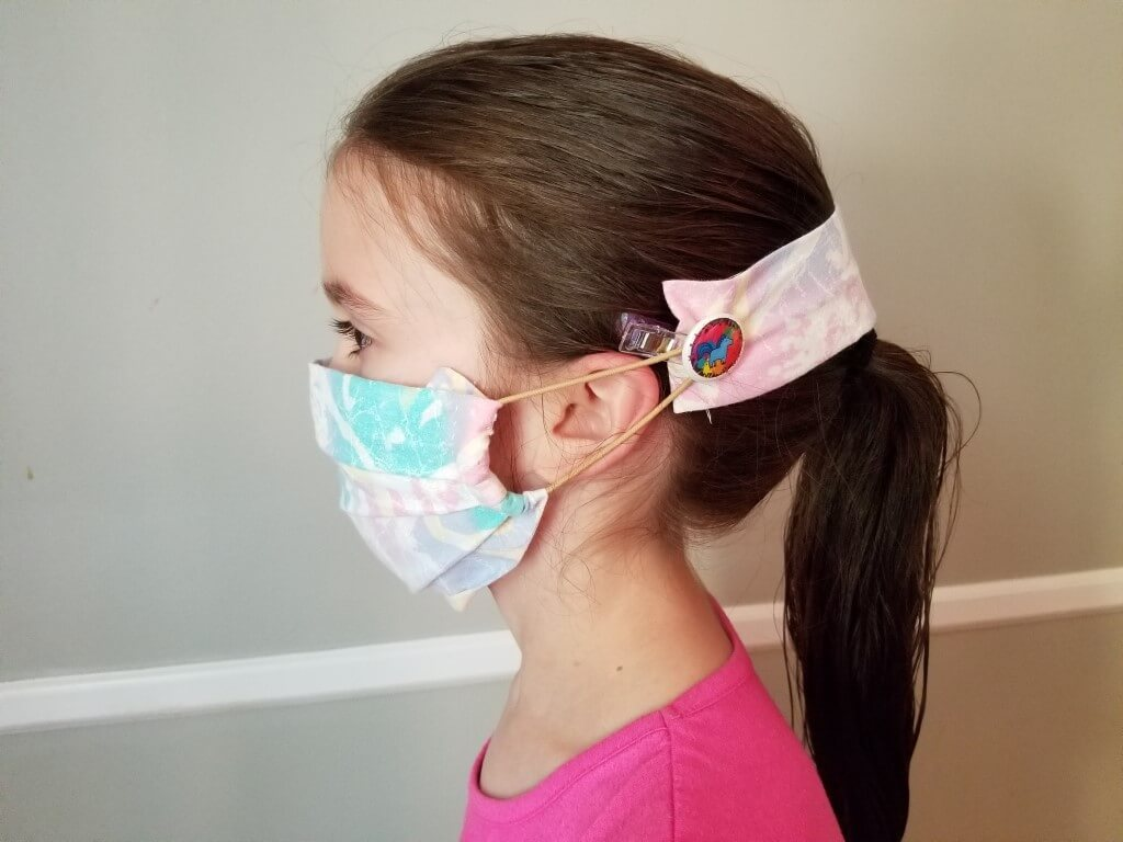 DIY Face Mask Ear Saver Strap - Pin Trial