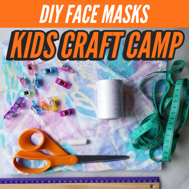 DIY face masks that kids can make on their own
