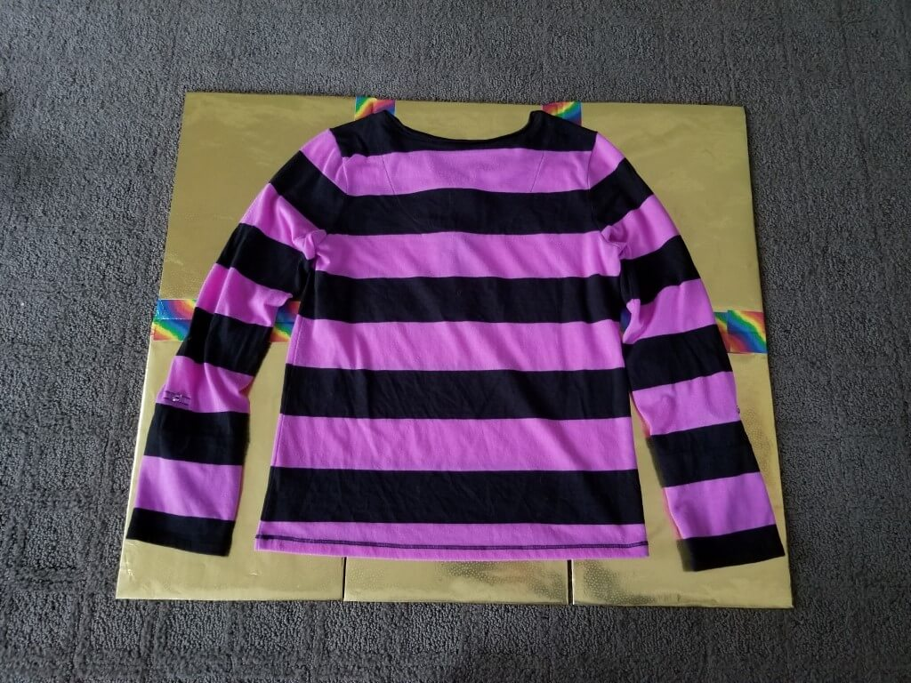 DIY shirt folding board - Step 11