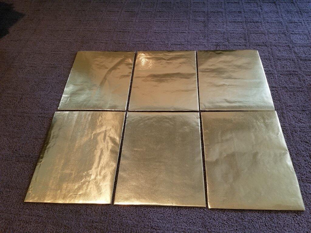 DIY shirt folding board - Step 6