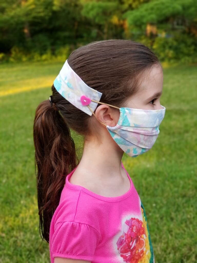 Face Mask Ear Saver Strap Pattern