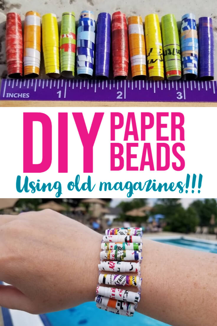 How to Make DIY Paper Beads Jewelry
