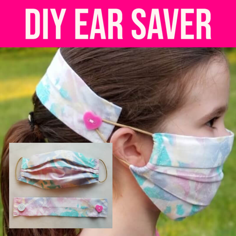 How to Make a Face Mask Ear Saver for Kids