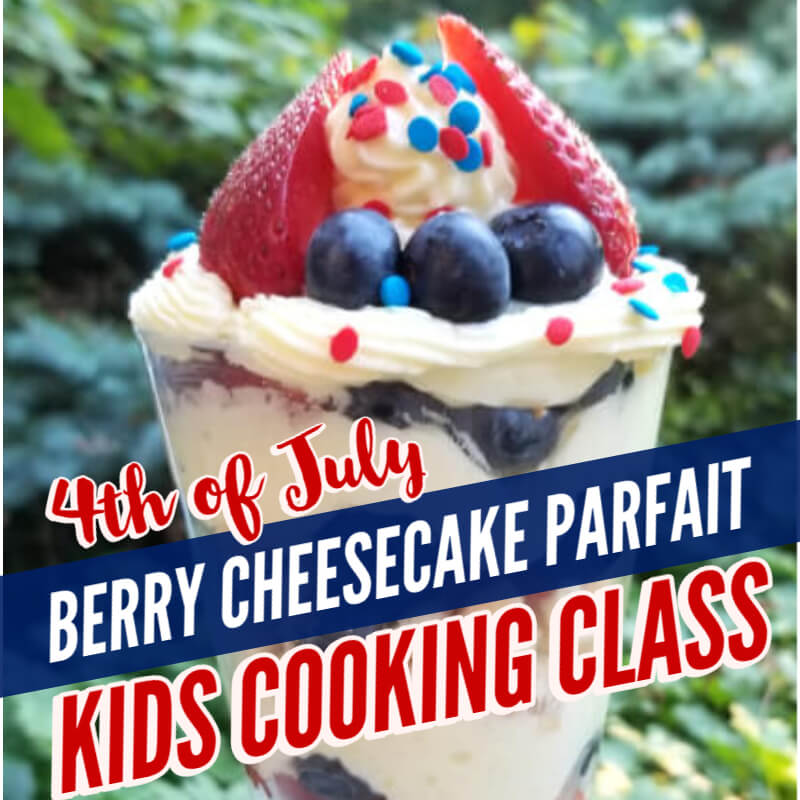 berry cheesecake parfait recipe