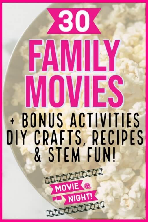 family movies kids love for movie night