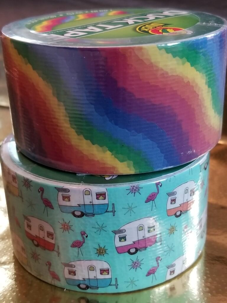fun duct tape patterns and prints for kids