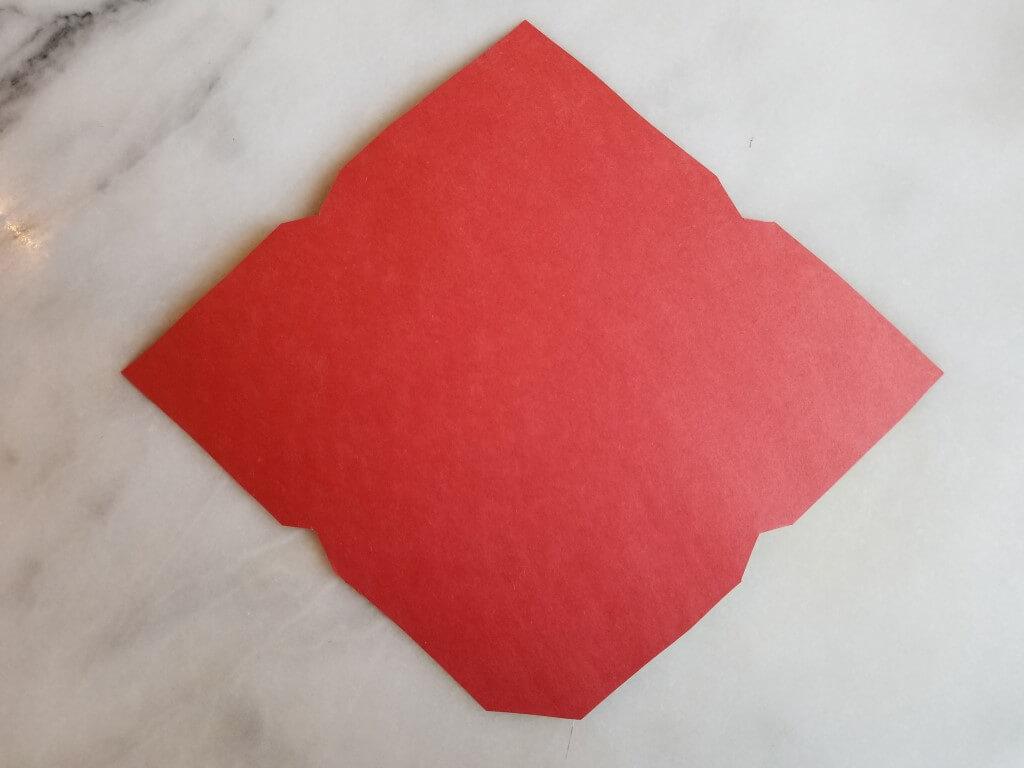 how to fold DIY envelopes